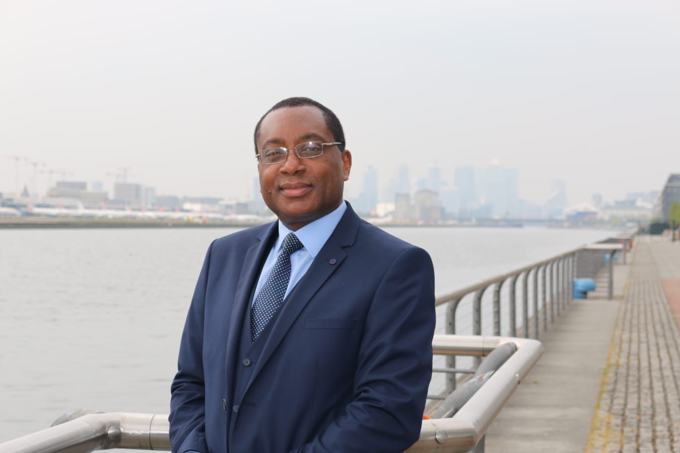 Professor Charles Egbu on South Bank.